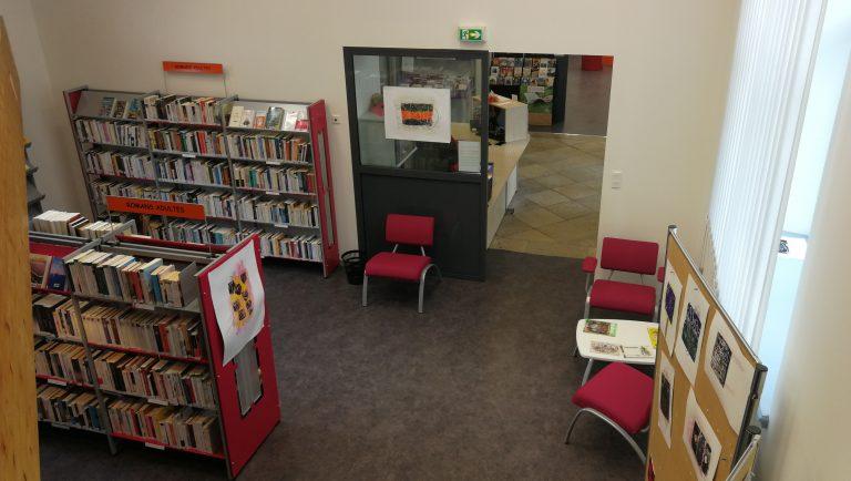 L'accueil de la bibliothèque